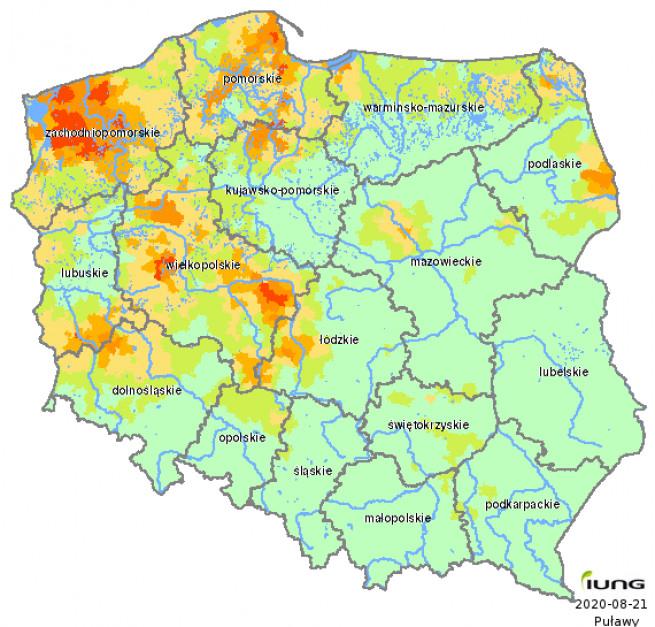 Źródło: IUNG-PIB w Puławach