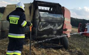 W Mąkoszycach straty oszacowano na ponad 15 tys. zł, zdjęcie: OSP Kobyla Góra