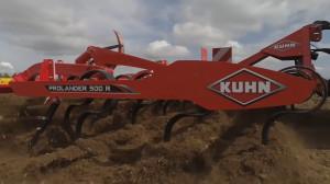 Hydraulicznie składane, zawieszane kultywatory Kuhn Prolander 100R, fot. Facebook/Kuhn