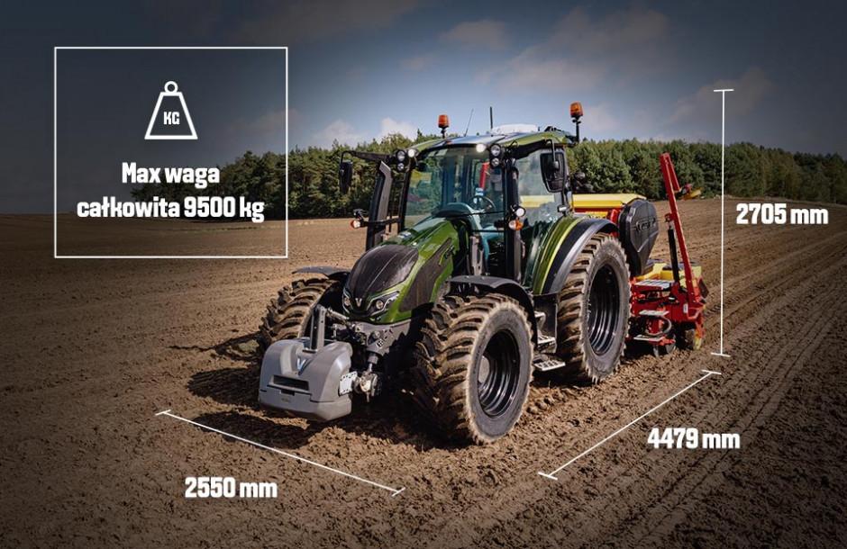 Valtra serii G to mocny i kompaktowy, a przez to uniwersalny ciągnik. fot. mat. prasowe