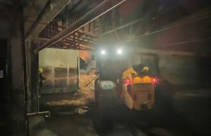 Działania gaśnicze trwały ponad 13 godzin, Foto: OSP Zopowy