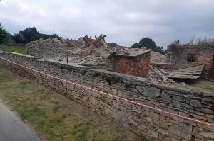 Dzięki operatywnemu sołtysowi stodołę wyburzono,  Foto: Strzelce Opolskie