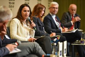 Agnieszka Kulińska prawnik, partner wydarzenia reprezentująca firmę Dentons