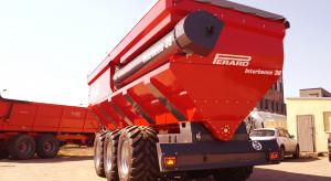 30 ton ziarna na minutę - wóz przeładowczy Interbenne