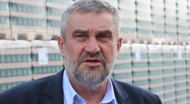 Ardanowski: plony są dobre, chociaż ten rok zapowiadał się dramatycznie
