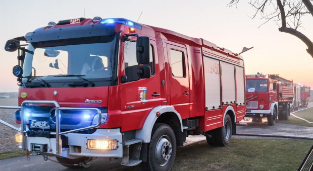 Opolskie: Blisko 60 interwencji strażaków po burzach nad regionem