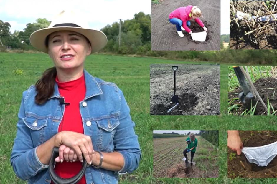 Test Farmera: zakop majtki i sprawdź stan gleby