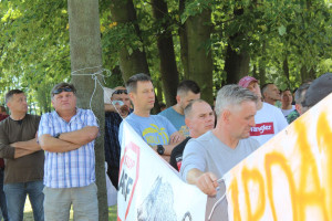 Rolnicy domagali się równego i poważnego traktowania przez rząd
