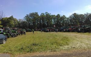 Na protest przybyli głównie rolnicy z kilku powiatów woj. łódzkiego