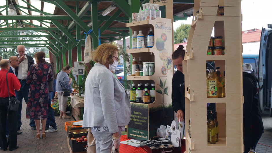 Wydarzeniu towarzyszył Bio Hub Bazar, gdzie swoje produkty oferuje RSP Ostoja Natury i jej partnerzy.