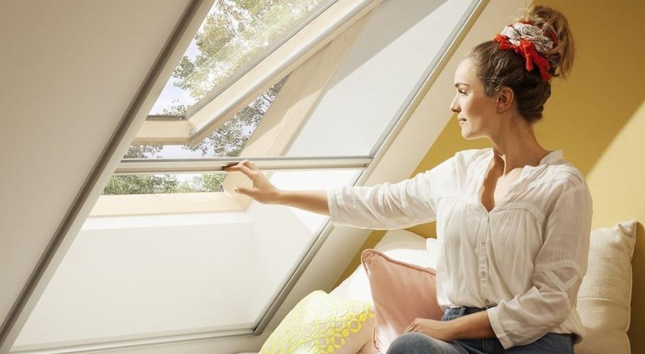 Okna dachowe z ochroną przed owadami