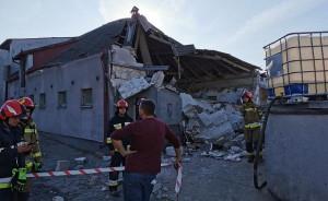Budynek chlewni nie nadaje się do dalszego użytkowania, Foto: OSP Przysiersk