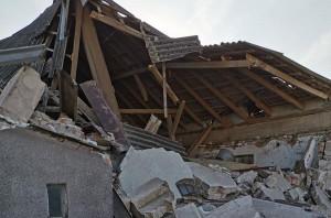 Pod gruzami zginęło około 100 świń i prosiąt, Foto: OSP Przysiersk