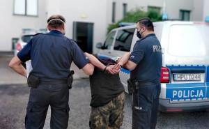 Podpalacza zatrzymano i przyznał się do winy, Foto: KPP Grodzisk Wlkp.