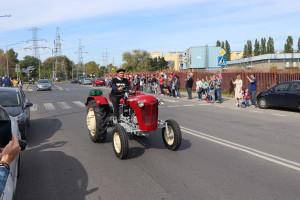 Parada ciągników ulicami Warszawy była kulminacyjnym punktem wydarzenia fot. Tomasz Kuchta