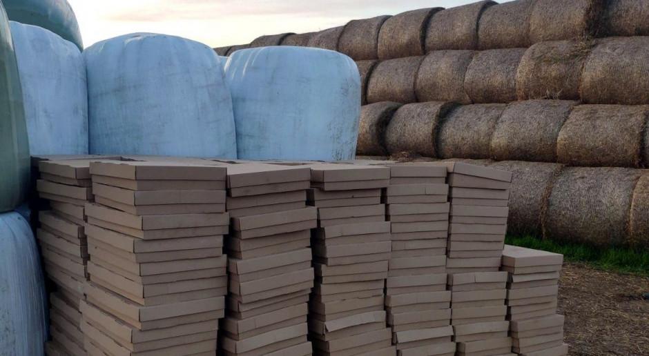 Kontrabanda ukryta w sianokiszonce