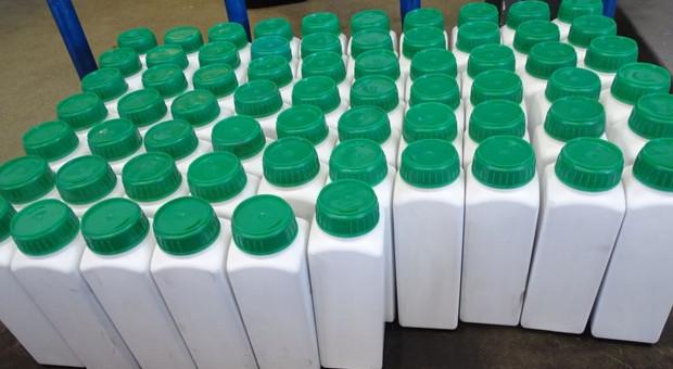Pestycydy w skrytce autokaru z Ukrainy