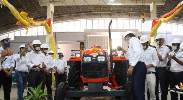 Kubota rozpoczęła masową produkcję ciągników w Indiach