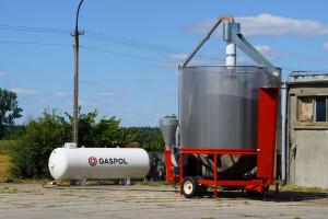 Zasilanie suszarni płynnym gazem LPG - dlaczego warto?