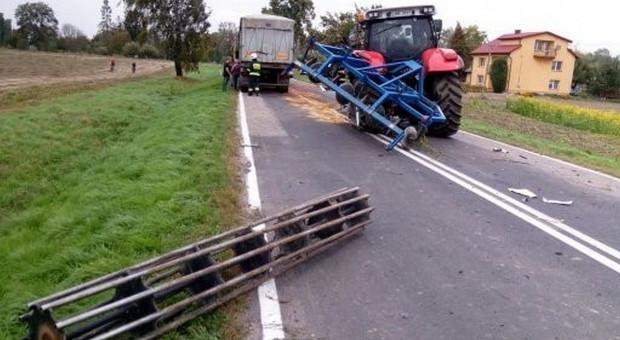 Wypadki z udziałem ciągników rolniczych