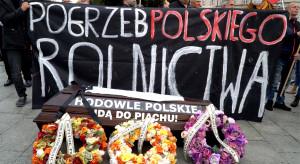 Rolnicy szukali ratunku u prezydenta. Tak wyglądał protest w Warszawie