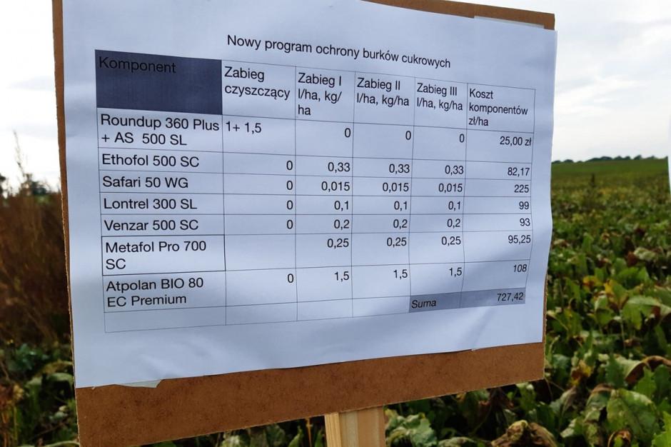 Najkorzystniej wypadł powyższy program ochrony Koszt programu herbicydowego przy trzech zabiegach powschodowych wynosi około 727 zł/ha brutto. Fot. A. Kobus