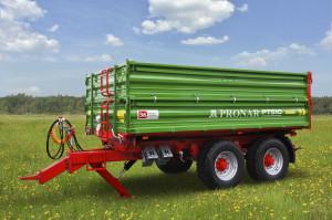Przyczepa PT510 lidera wsprzedaży przyczep w Polsce  – Pronaru – została wyceniona na niespełna 50 tys. zł netto  – to zdecydowanie dobry wynik na tle konkurencji