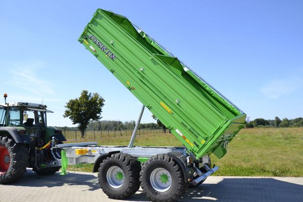 10 ton na tandemie - przegląd przyczep