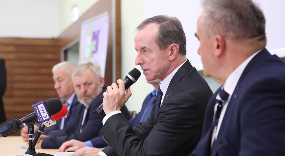 Marszałek Grodzki wziął udział w spotkaniu z rolnikami