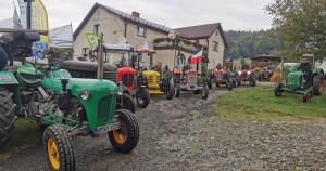 Na bieszczadzki rajd wyruszyły po raz kolejny zabytkowe ciągniki, Foto: Stow. Stary Traktor Bieszczady