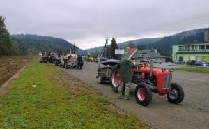 Pasjonaci przejechali około 300 km drogami Podkarpacia
