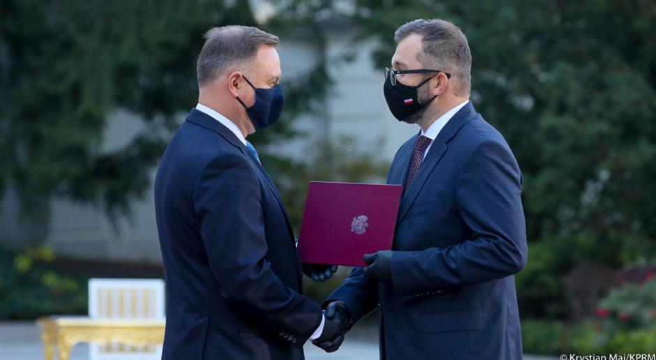 Grzegorz Puda został powołany na ministra