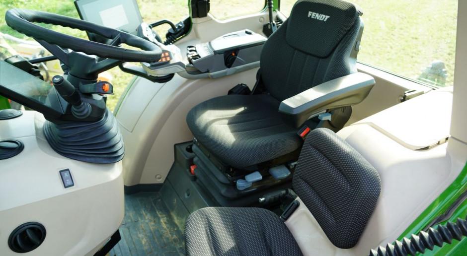 Fendt 200 Vario - nowa, wyższa kabina z płaską podłogą, fot.kh
