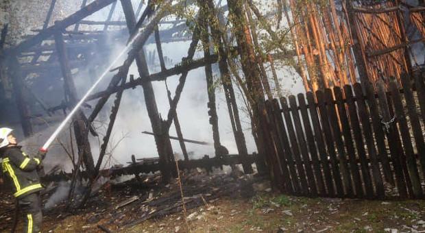 Spłonęła stodoła z całą zawartością