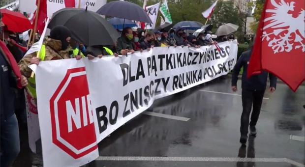 Protest rolników - kolejna batalia w Warszawie