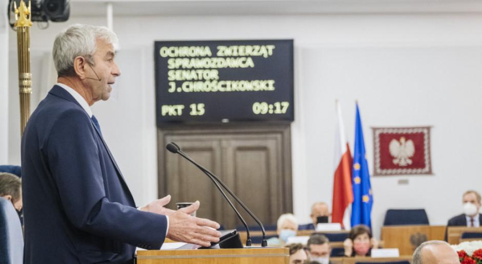 Głosowanie w Senacie nad nowelą ustawy o ochronie zwierząt w środę od godz. 12.30