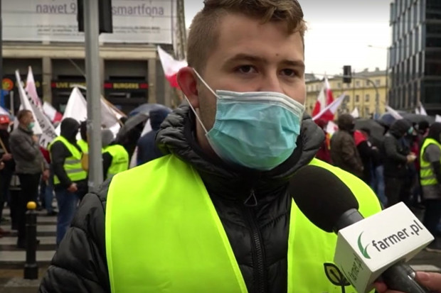 Protestujący: Po raz kolejny skłóca się rolników, my chcemy produkować