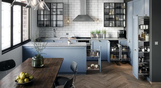 Poznaj 3 sprawdzone sposoby na aranżację kuchennej spiżarki