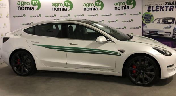 Finał loterii rolniczej - nagroda samochód elektryczny