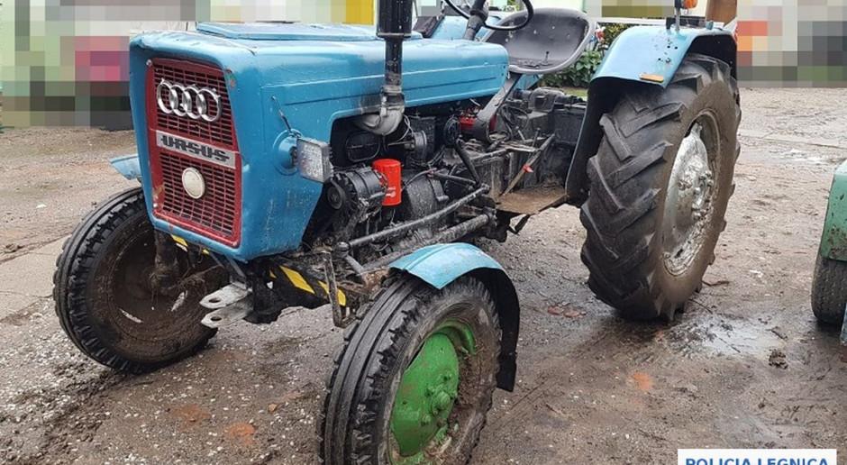Przed policjantami uciekał ciągnikiem rolniczym