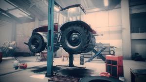 Gra Farm Mechanic Simulator zaoferuje każdemu chętnemu możliwość sprawdzenia się w roli mechanika maszyn rolniczych, fot. mat. prasowe