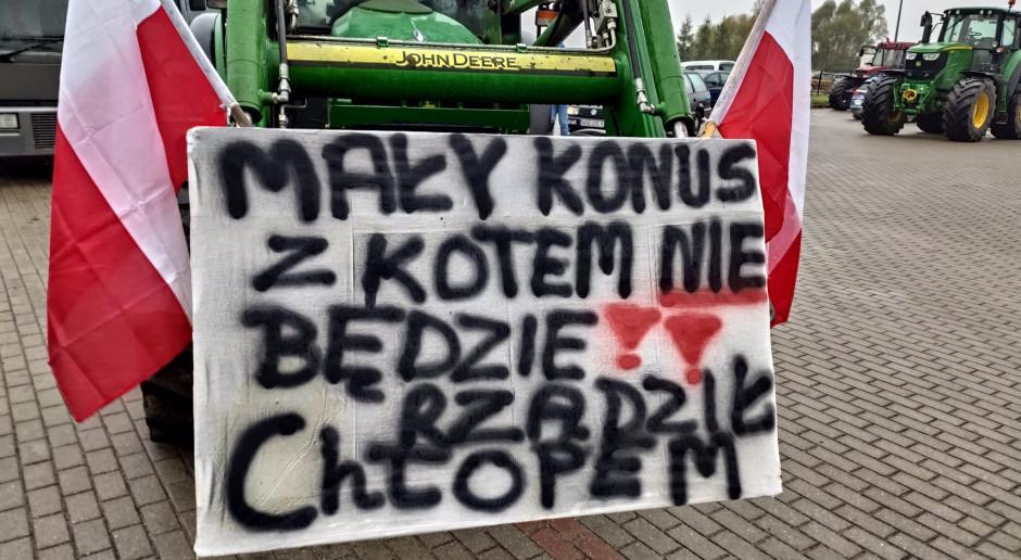 Protest rolników: blokady dróg w całym kraju