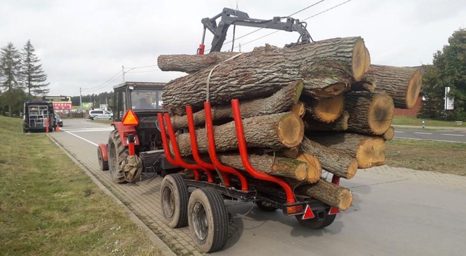 Transporty drewna pod lupą inspektorów