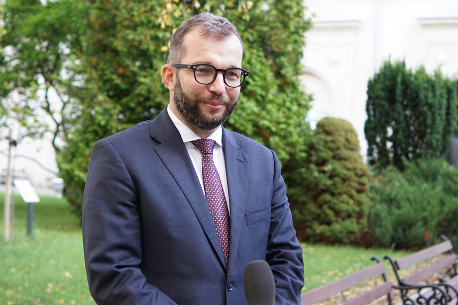 -Uruchamiamy program przywracający Polakom, polskim rolnikom, polskim konsumentom polskie produkty - mówi minister Puda, Fot. MRiRW