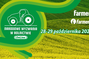 Zapraszamy na Narodowe Wyzwania w Rolnictwie OnLine