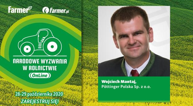 Pöttinger partnerem Narodowych Wyzwań w Rolnictwie