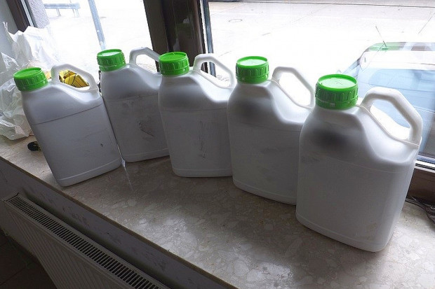Nielegalne pestycydy w tirze z Ukrainy