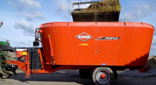 Zobacz w akcji wóz paszowy Kuhn Profile 20.2 DL