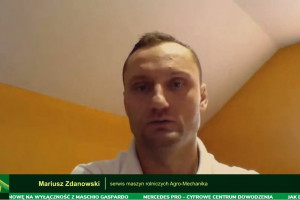 Mariusz Zdanowski twierdzi, że koszty napraw elektroniki nierzadko idą w dziesiątki tysięcy złotych fot. Farmer