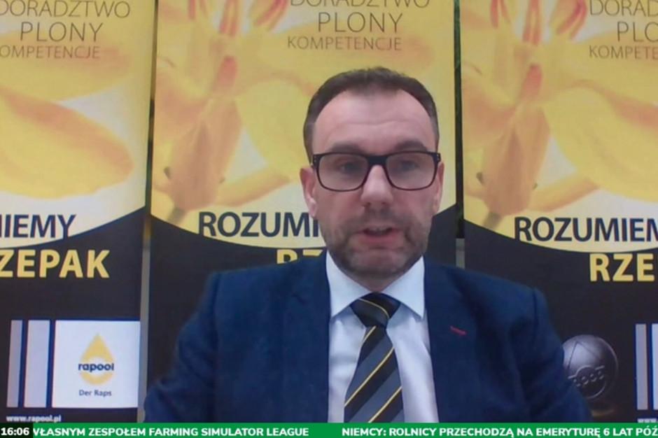 Artur Kozera, manager produktu i marketingu - Rapool Polska podczas prezentacji wygłoszone na NWwR Online